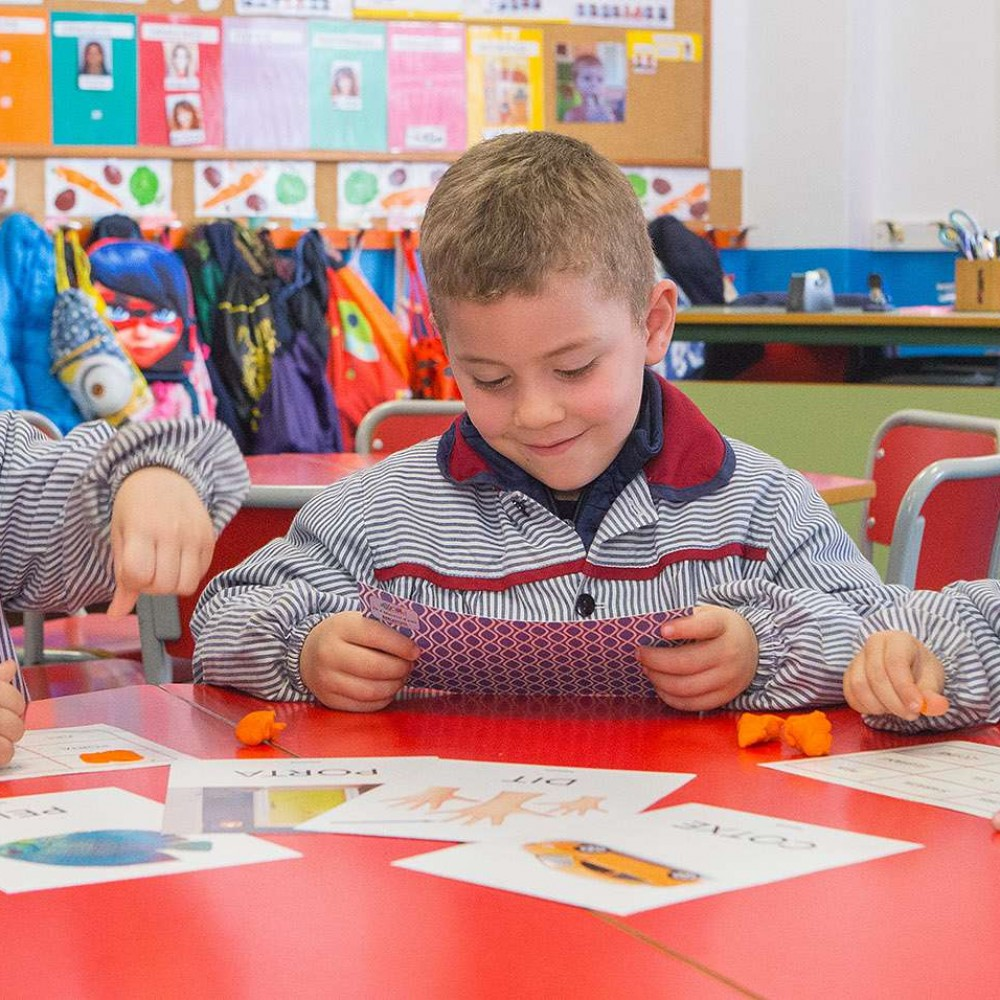 Pre primary education- second cycle